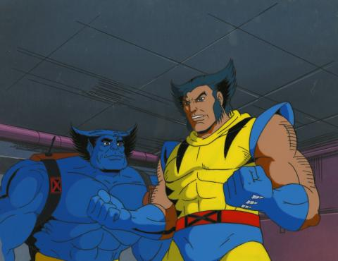 X-Men Cel and Background - ID: octxmen17231 Marvel