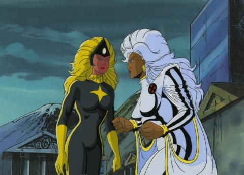 X-Men Cel and Background - ID: octxmen17234 Marvel