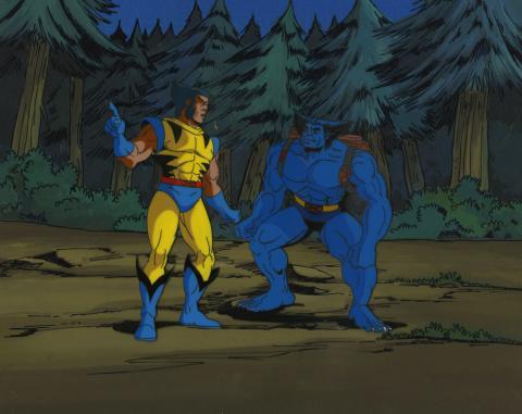 X-Men Cel and Background - ID: octxmen17260 Marvel