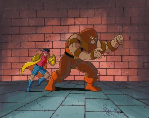 X-Men Cel and Background - ID: octxmen17281 Marvel