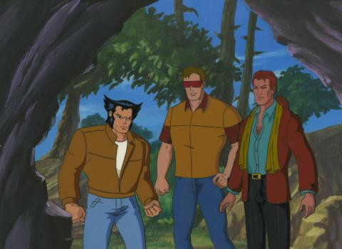 X-Men Cel and Background - ID: octxmen17287 Marvel