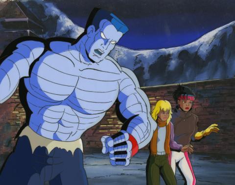 X-Men Cel and Background - ID: octxmen17294 Marvel