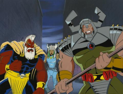X-Men Cel and Background - ID: octxmen17297 Marvel