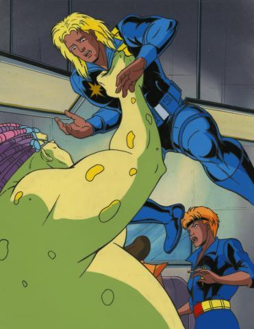 X-Men Cel and Background - ID: octxmen17339 Marvel