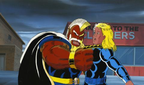 X-Men Cel and Background - ID: octxmen17414 Marvel