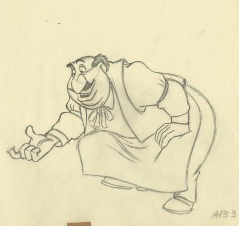 Lady and the Tramp Production Drawing - ID: septladytramp17982 Walt Disney