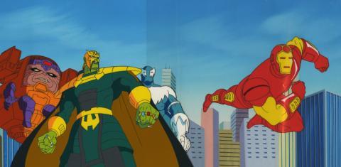 Iron Man Cel and Background - ID: aprironman18145 Marvel