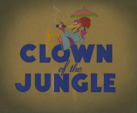 Clown of the Jungle Title Card - ID: julyaracuan18252 Walt Disney