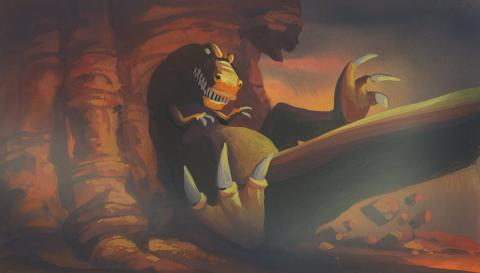 Land Before Time Background Color Key Concept - ID: junlandbefore18177 Don Bluth