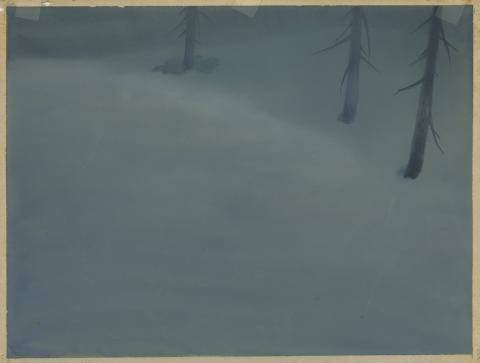Bambi Production Background - ID: maybambi18069 Walt Disney
