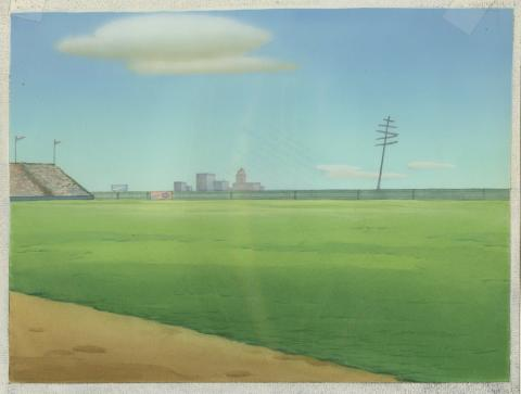 How to Play Baseball Production Background - ID: maygoofy18020 Walt Disney