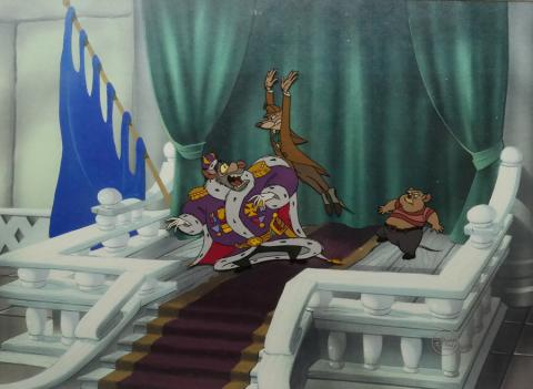 The Great Mouse Detective Production Cel - ID: novdetective18226 Walt Disney