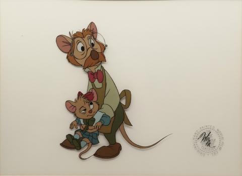 The Great Mouse Detective Production Cel - ID: novdetective18227 Walt Disney