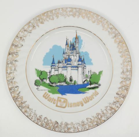 Walt Disney World Large Plate - ID: octdisneyana18190 Disneyana