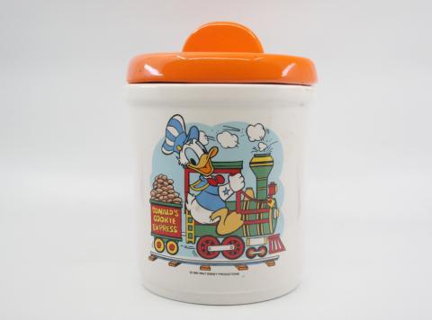 1980 Donald Express Cookie Jar - ID: octdisneyana18487 Disneyana