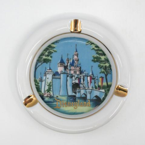 1960s Disneyland Sleeping Beauty Castle Ashtray - ID: octdisneyana18595 Disneyana