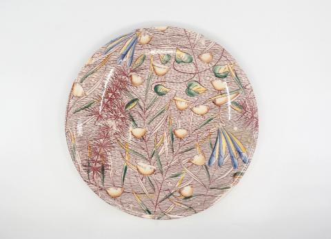 1940 Fantasia Milkweed Ballet Plate - ID: octdisneyana18754 Disneyana