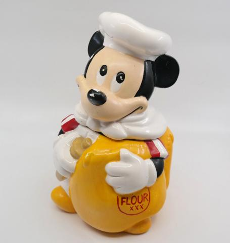Mickey Mouse Baker Cookie Jar - ID: octdisneyana18809 Disneyana