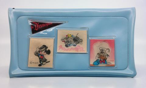 1950s Disneyland Blue Plastic Purse - ID: octdisneyana18963 Disneyana