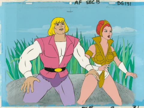 He-Man Production Cels - ID: octheman18431 Filmation