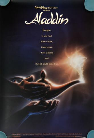 Aladdin One Sheet Poster - ID: augaladdin19159 Walt Disney