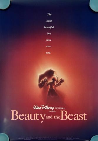 Beauty and the Beast One Sheet Poster - ID: augbeauty19157 Walt Disney
