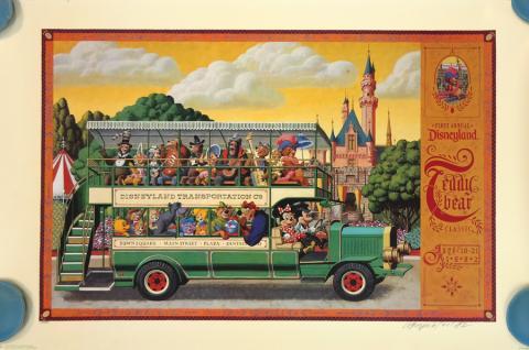 1st Annual Disneyland Teddy Bear Classic Charles Boyer Limited Edition - ID: augboyer19223 Disneyana