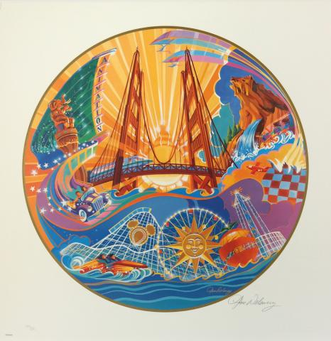 California Adventure Limited Edition by Tim Delany - ID: augdelaney19131 Disneyana