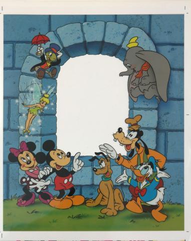 Disney Picture Frame Insert Test Print - ID: augdisney19045 Disneyana