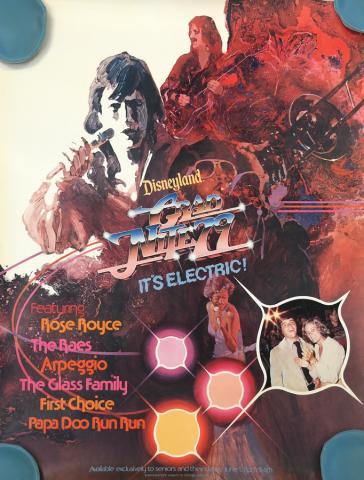 Disneyland 1979 Grad Night Poster - ID: augdisneyana19214 Disneyana