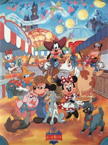 1987 Disneyland State Fair Poster - ID: augdisneyland19227 Disneyana