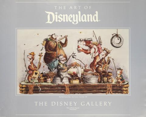 Bear Band Vacation Show Disney Gallery Poster - ID: augdisneyland19392 Disneyana