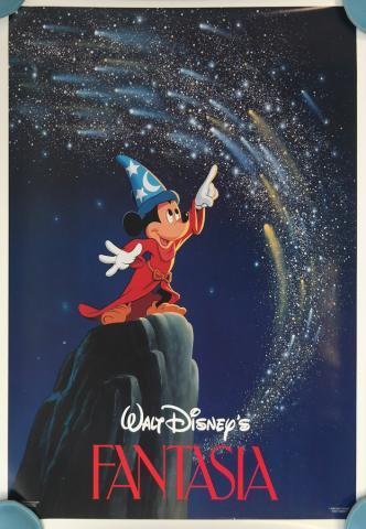 Fantasia Half Sheet Movie Poster - ID: augfantasia19203 Walt Disney