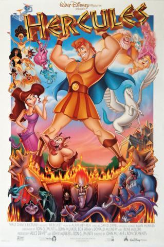 Hercules One Sheet Poster - ID: aughercules19153 Walt Disney