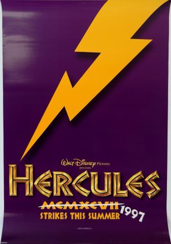 Hercules One Sheet Poster - ID: aughercules19186 Walt Disney