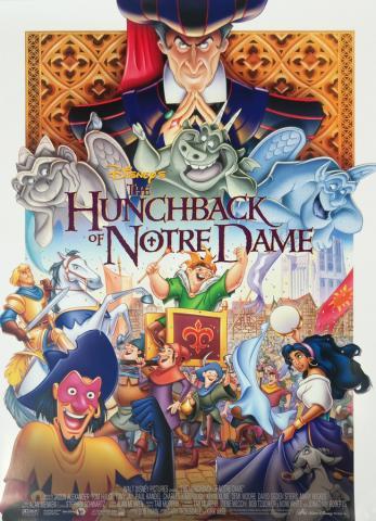 The Hunchback of Notre Dame One Sheet Poster - ID: aughunchback19036 Walt Disney