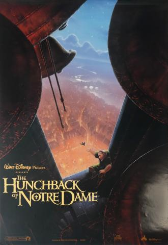 The Hunchback of Notre Dame One Sheet Poster - ID: aughunchback19037 Walt Disney
