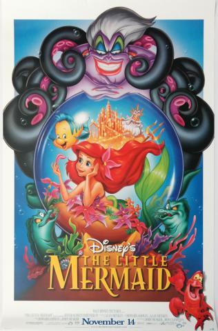 The Little Mermaid One Sheet Poster - ID: augmermaid19147 Walt Disney