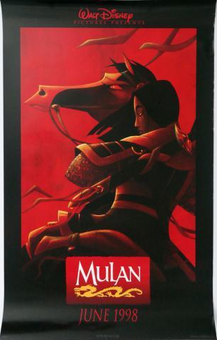 Mulan One Sheet Poster - ID: augmulan19146 Walt Disney