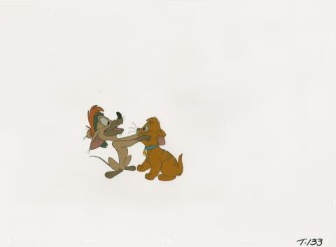 Oliver and Company Production Cel - ID: augoliver19302 Walt Disney