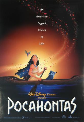 Pocahontas One Sheet Poster - ID: augpocahontas19038 Walt Disney