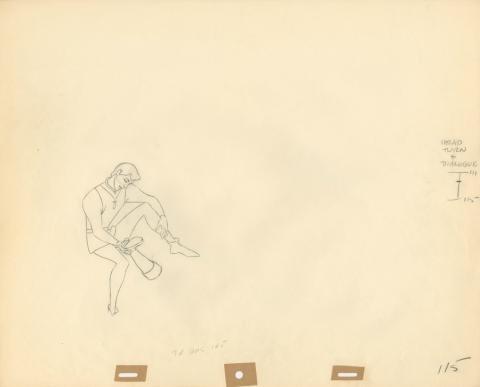 Sleeping Beauty Production Drawing - ID: augsleeping19238 Walt Disney