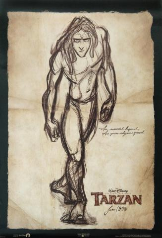 Tarzan One Sheet Poster - ID: augtarzan19150 Walt Disney
