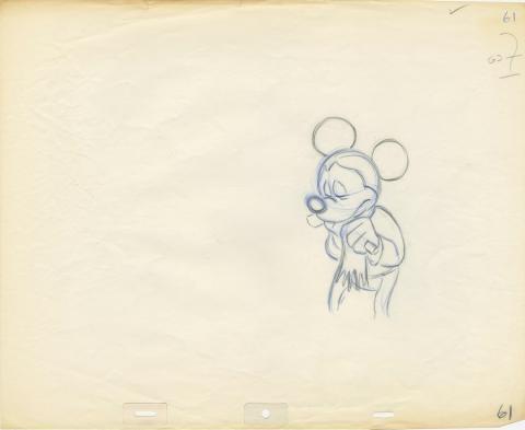 Mickey's Christmas Carol Production Drawing - ID: janchristmascarol19257 Walt Disney