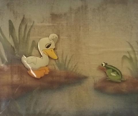 Ugly Duckling Production Cel - ID: janduckling19047 Walt Disney