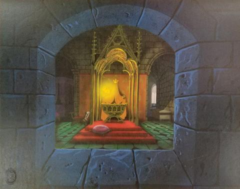 Eyvind Earle Sleeping Beauty Limited Edition - ID: janearle19340 Walt Disney