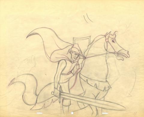 Sleeping Beauty Production Drawing - ID: jansleepingbeauty19344 Walt Disney