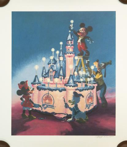 Disneyland 30th Anniversary Limited Edition Print - ID: marboyer19144 Disneyana