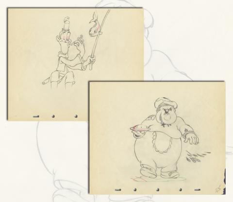Mother Goose Goes Hollywood Production Drawings - ID: marhollywood19138 Walt Disney