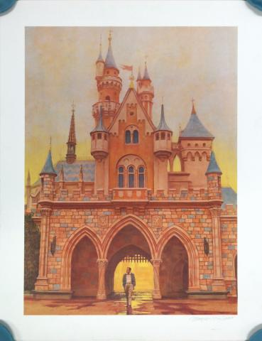 "DIsneyland ""Footsteps"" Charles Boyer Signed Limited Edition - ID: mayboyer19203 Disneyana"